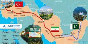 ازسرگیری حرکت قطارهای باری پاکستان-ایران- ترکیه از پنج شنبه