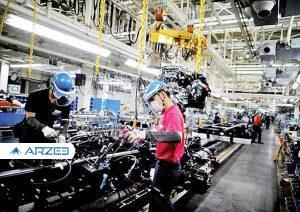 افزایش ۲۰ درصدی تولید قطعات خودرو در سال ۹۹