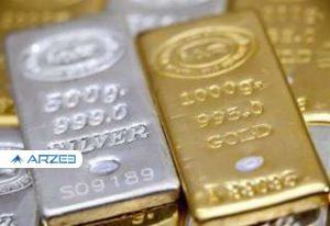 توقف طلا و نقره در بازارهای مالی جهان