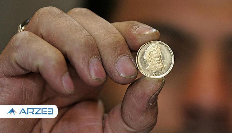 حباب سکه ۶۲۰ هزار تومان شد