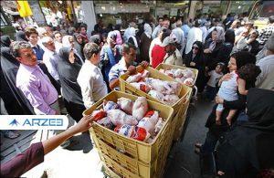 سکوت وزارت جهاد کشاورزی در ضعف بازار مرغ
