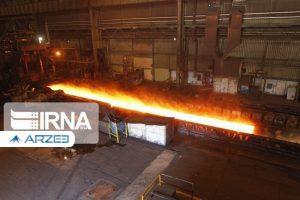 فولاد ایران برخلاف تولید جهانی رشد داشت