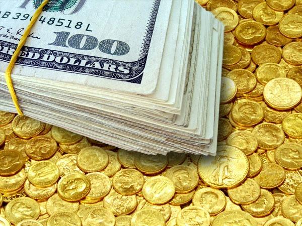 قیمت امروز طلا و دلار، سکه کاهشی شد