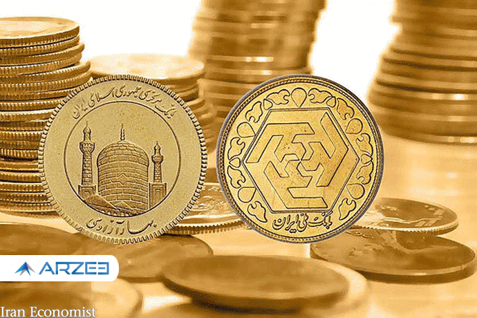 قیمت طلا و سکه در بازار آزاد 27 بهمن ماه