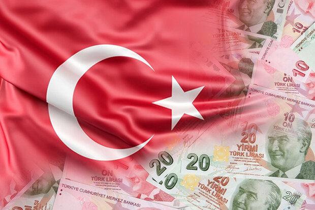 لیر ترکیه بالاترین سطح ۶ ماهه در مقابل دلار آمریکا رسید