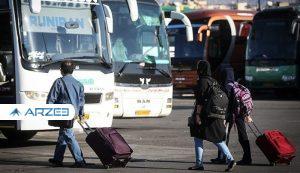 هزینه ۲ میلیونی سفر با اتوبوس