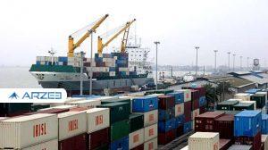 وزن صادرات کالاهای غیرنفتی به ۲۱.۹ میلیون تن افزایش یافت