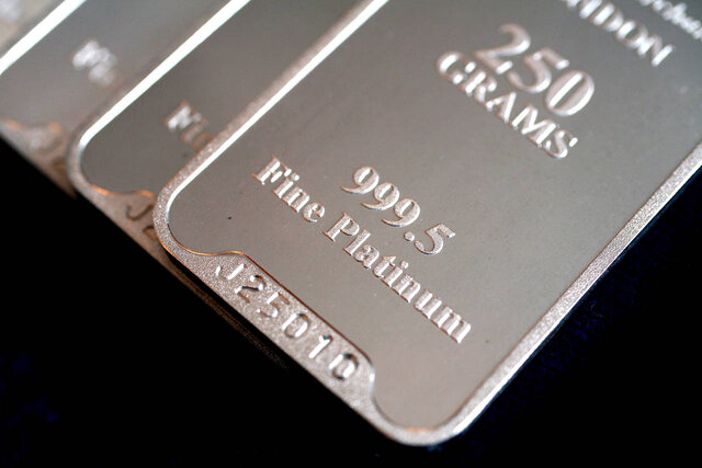پلاتین رکورد زد/طلا ثابت ماند