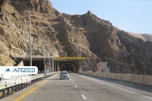 پیشرفت فیزیکی منطقه ٢ آزادراه تهران- شمال به ٤٧ درصد رسید