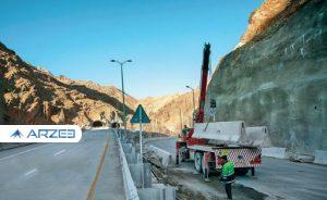 پیشرفت فیزیکی منطقه ۲ آزادراه تهران_شمال به ۴۵ درصد رسید