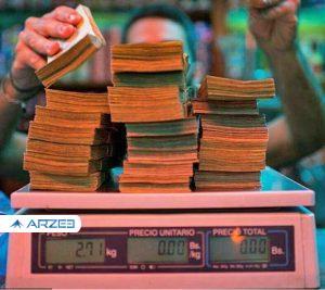 چاپ اسکناس یک میلیون بولیواری!