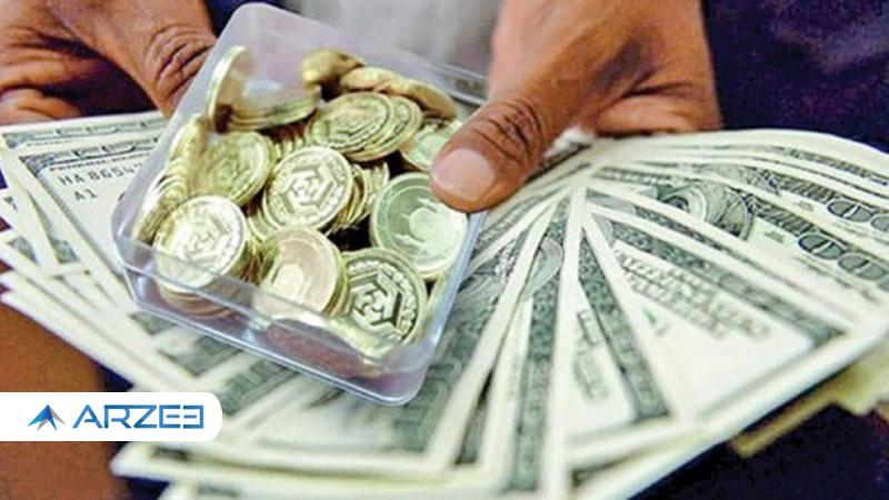 چراغ قرمز برای سکه و طلا؛ ورود دلار به کانال 25 هزار تومانی
