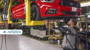 کاهش 5 درصدی بزرگترین خودروساز آمریکا