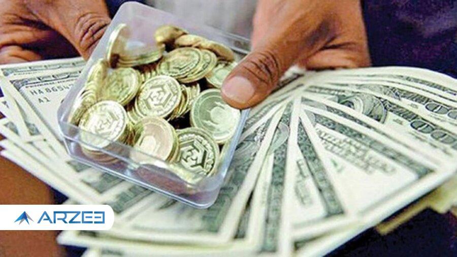 افت ادامه دار قیمت سکه و طلا؛ دلار در کانال 23 هزار تومان جا خوش کرد