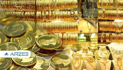 افزایش سرعت ریزش نرخ ها در بازار/ هر گرم طلا کانال یک میلیون تومان را واگذار کرد