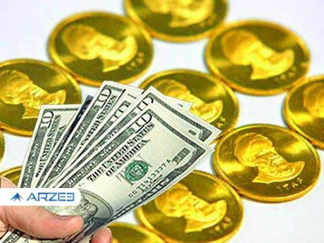خودنمایی سکه امامی و افت ربع سکه؛ دلار درجا زد