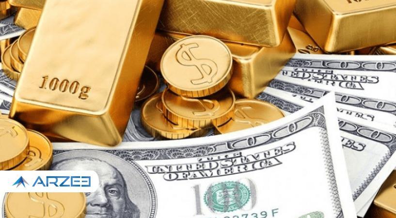 روند کاهشی قیمت طلا ،سکه و دلار 8 اردیبهشت 1400