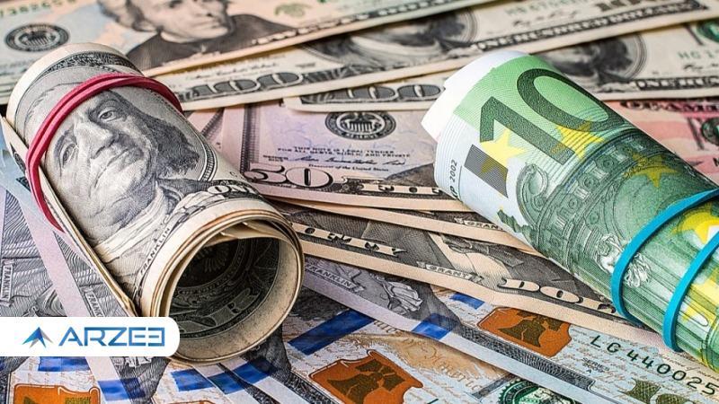 قیمت دلار و یورو در بازارهای مختلف 6 اردیبهشت 1400