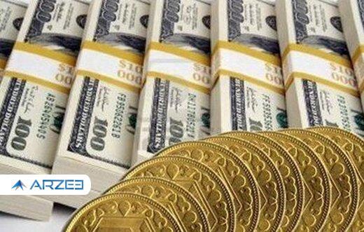قیمت سکه، طلا و ارز ۱۴۰۰.۰۲.۰۶ / تثبیت نرخ ارز در بازار ؛ افزایش قیمت جهانی طلا