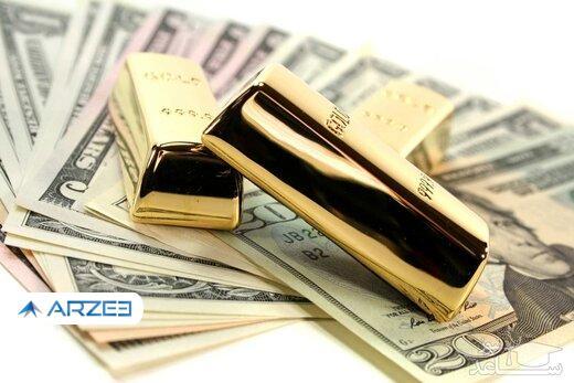 قیمت سکه، طلا و ارز 1400.02.08 / طلا عقب نشست