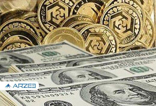 قیمت سکه ، طلا و ارز ۱۴۰۰.۰۲.۰۷ / سکه در کانال ۹ میلیون تومان