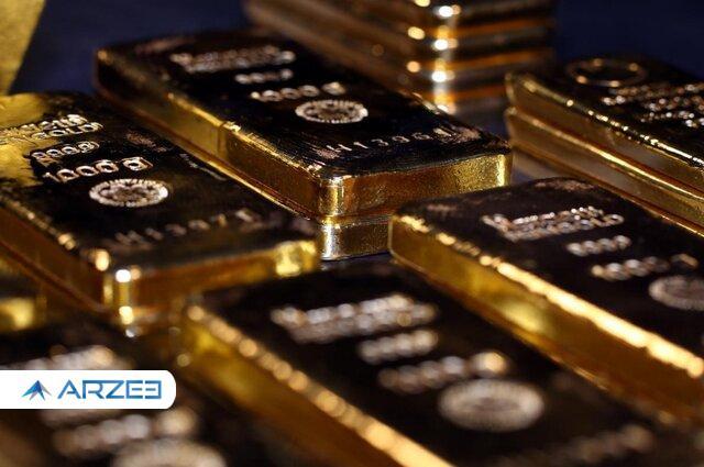 قیمت طلای جهانی پایین رفت
