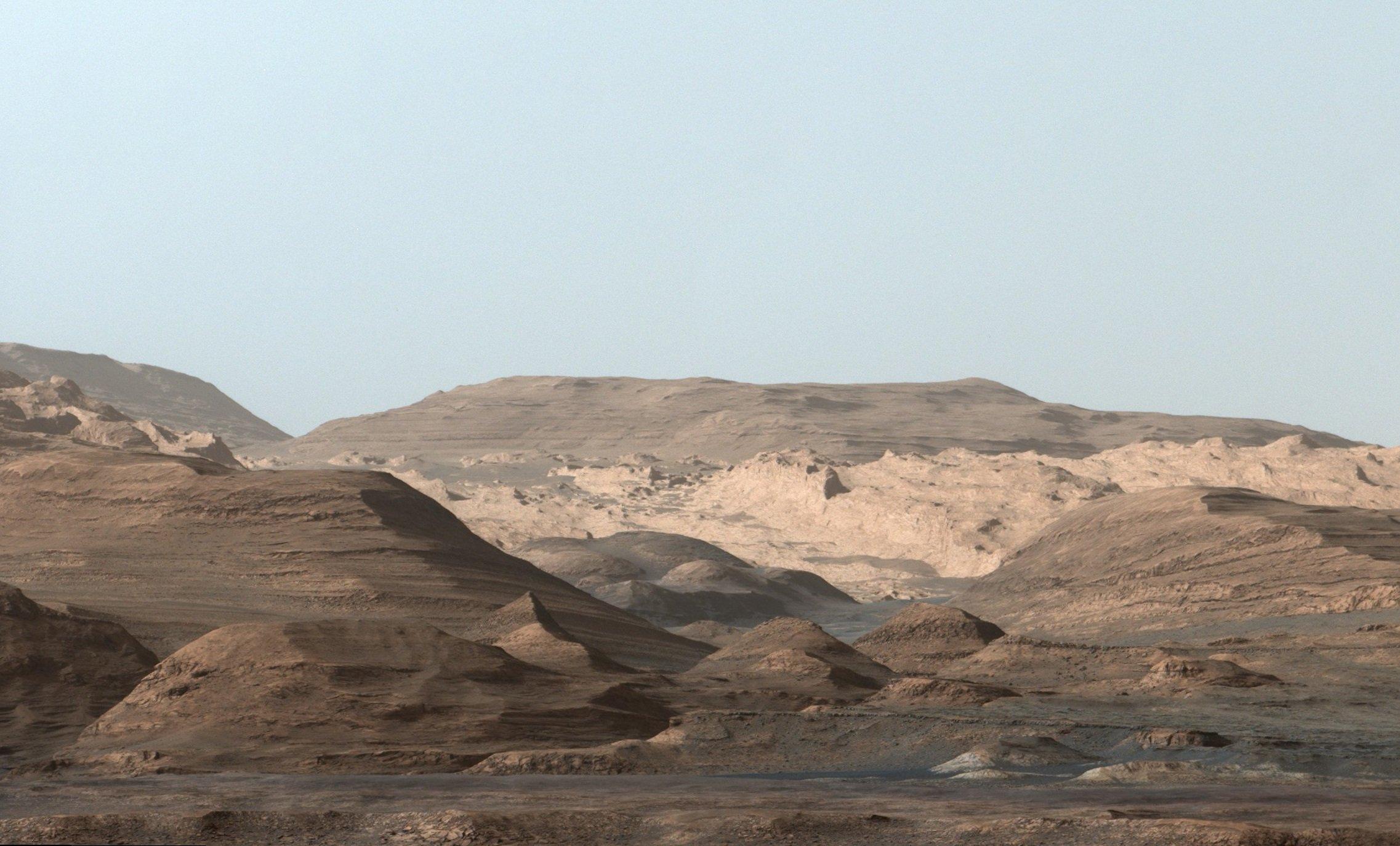 محیط مریخ از نگاه مریخنورد کنجکاوری