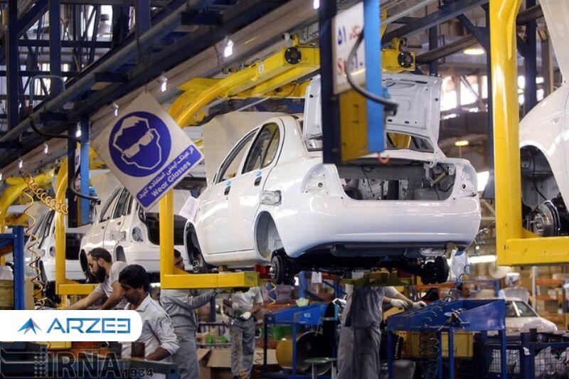 هدفگذاری برای تولید ۱.۲ میلیون دستگاه خودرو در سال ۱۴۰۰