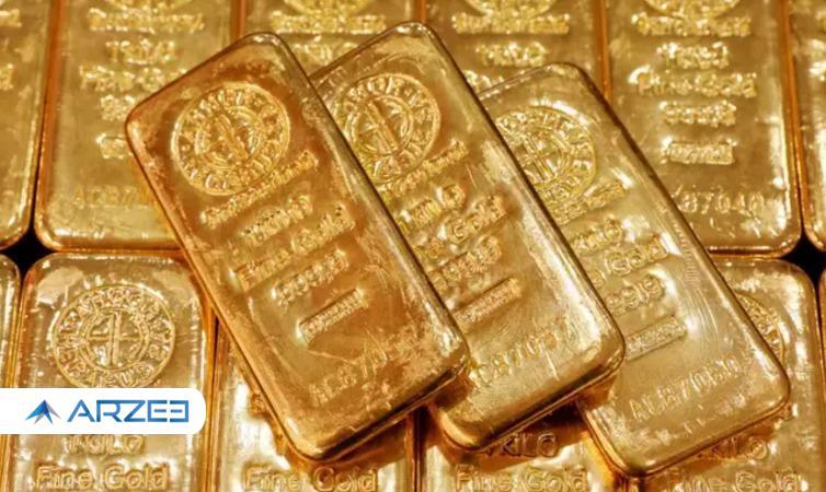 کاهش قابل توجه قیمت طلا از صبح امروز