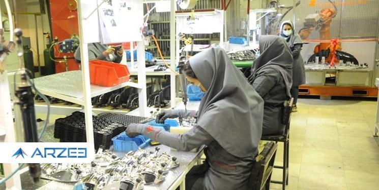 کاهش ۱۳۳ میلیون یورو ارزبری سالانه ایران خودرو