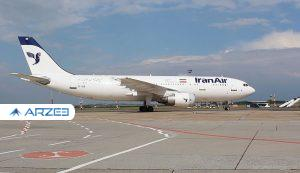 برقراری پرواز فوقالعاده ایران ایر به پاریس