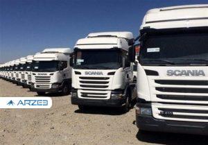 قیمت ۵۵ هزار یورویی کامیونهای وارداتی