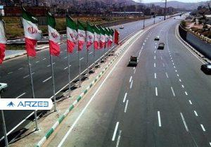 ۳۲۱ کیلومتر بزرگراه و راه اصلی در ۱۷ استان افتتاح شد