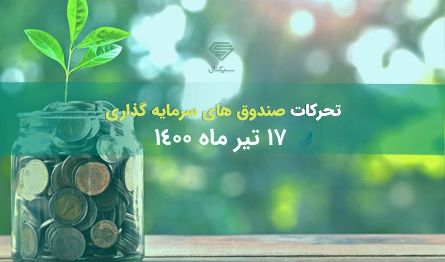 تحرکات صندوق های سرمایه گذاری  | 17 تیر 1400