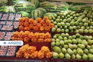 قیمت بیشتر میوههای میادین تره بار کاهش یافت