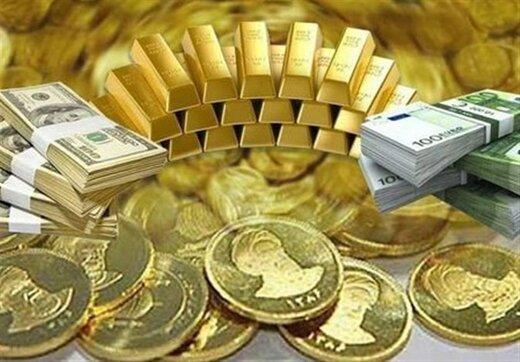 قیمت سکه، طلا و ارز ۱۴۰۰.۰۶.۰۶/ سکه و دلار کانال عوض کردند