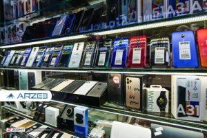 قیمت گوشیهای پرفروش ۴ تا ۵ میلیونی در بازار