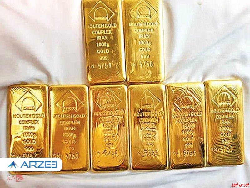 قیمت طلا برای کل هفته ۰.۸ درصد افزایش داشت