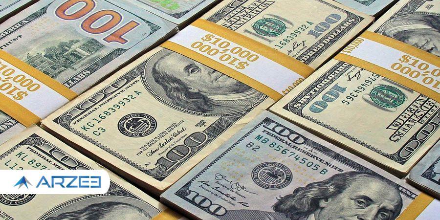 قیمت دلار در بازار  شنبه ۱۴۰۰/۰۷/۰۳ صعود قیمت